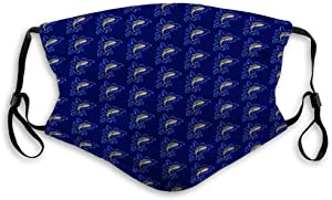 langhu Half Mask Sharks Pattern Blue Black eps Abstract Outdoor Cover