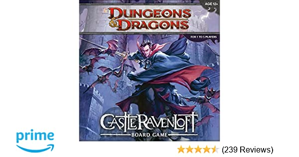 Amazon Com Dungeons And Dragons Castle Ravenloft Board Game