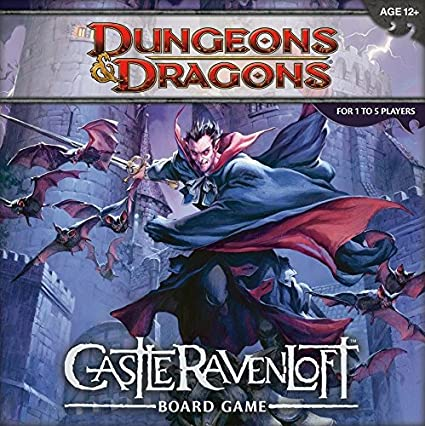 Amazoncom Dungeons And Dragons Castle Ravenloft Board Game