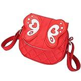 Kids Shoulder Bag Crossbody Purse Butterfly Mini