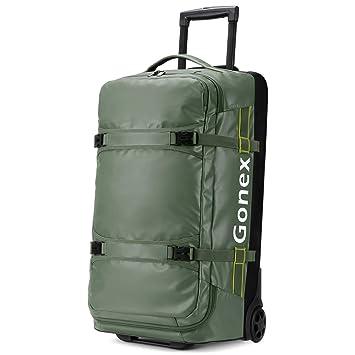 Amazon.com: Gonex - Bolsa de viaje con ruedas (70 L ...