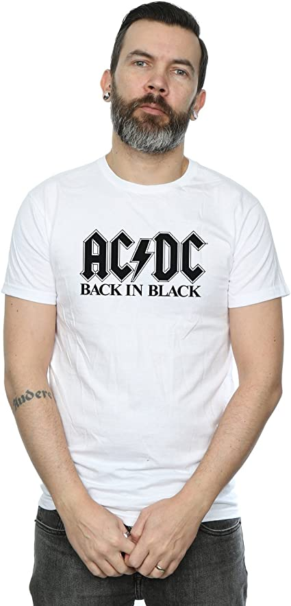 AC//DC Gar/çon Back In Black T-Shirt