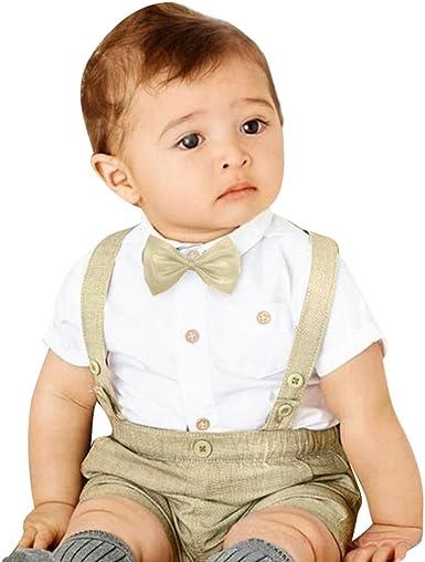 JEELINBORE 3Pcs Conjuntos de Ropa para Bebés Niño Ropa de ...