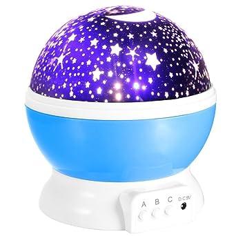 CSKB - Lámpara de proyector de luz nocturna con forma de galaxia ...