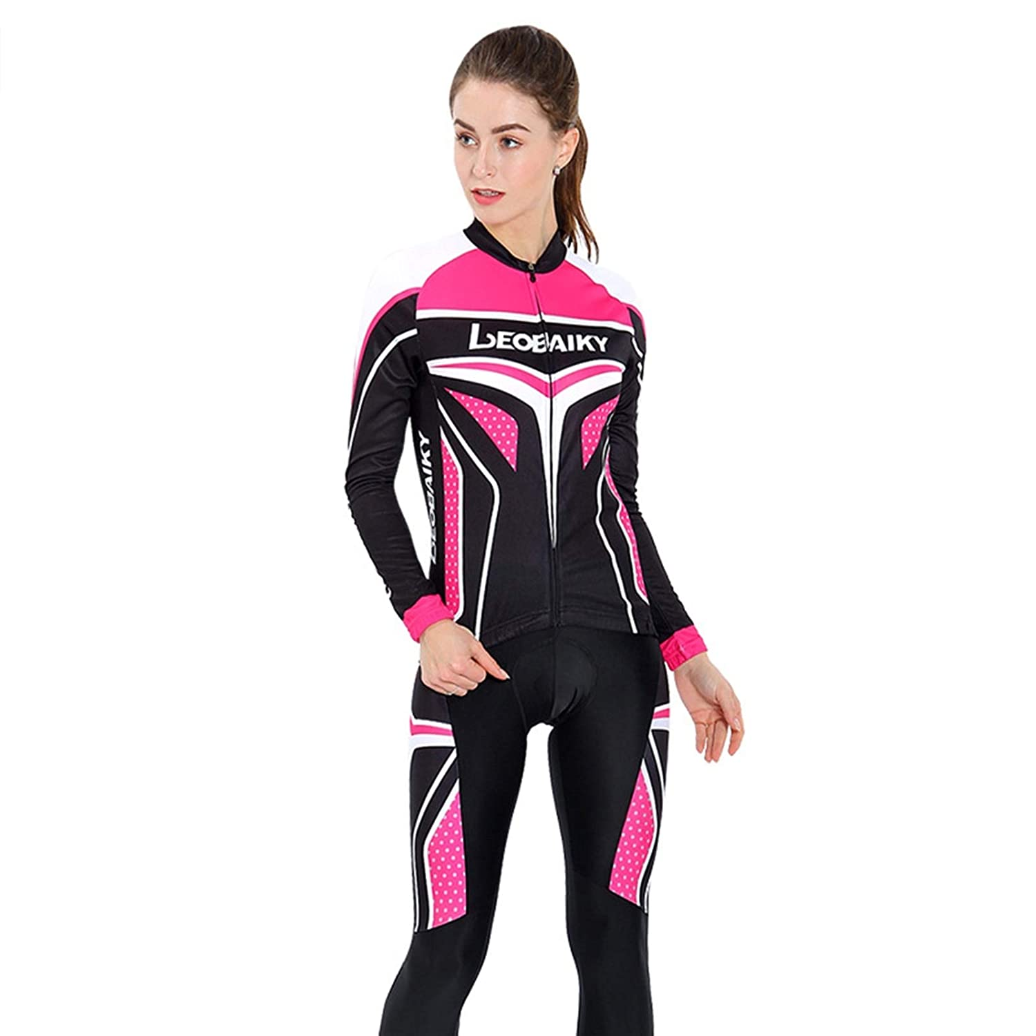 AmDxD Women's Sports Clothing Sets Autumn Winter Breathable Sports Clothing