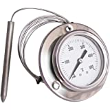 ConPush 0-500°C Forno Termometro con Sonda Lunga per BBQ