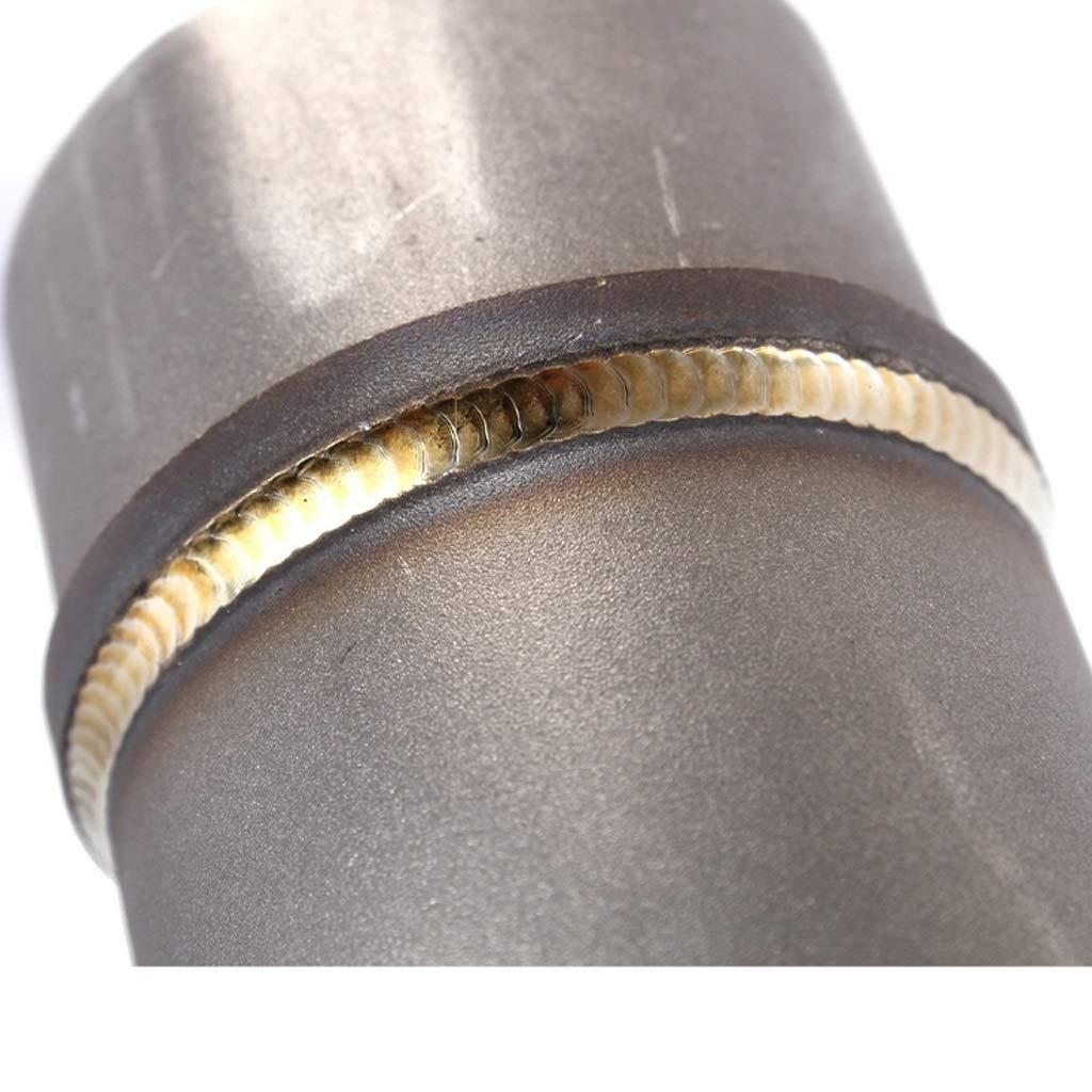Collecteurs d/échappementNSDFG tuyau de liaison en acier inoxydable section m/édiane tube dadaptateur tube central d/échappement de moto Connect Tuyau silencieux for Kawasaki Z750 Z800 Z 750 800