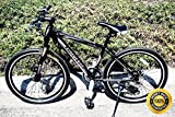 COLIBROX--26'' mountain Road Bike Bicycle 21 Speed Shimano matt black disc brake mtb new. Quick-Release Front and Rear Wheels and Prowheel Crank Set.