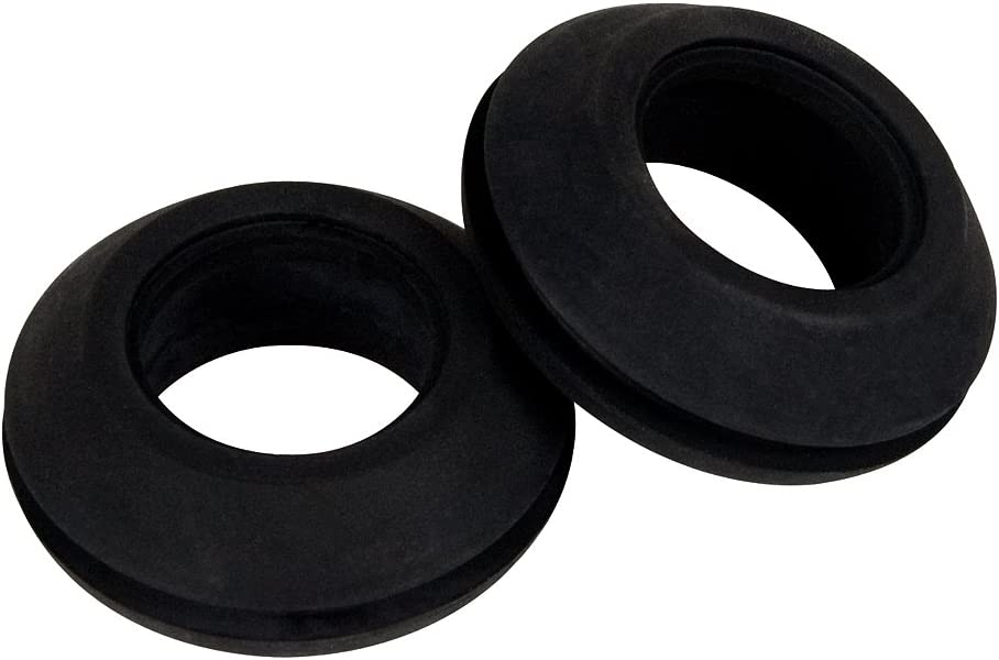 """Watertight Seal in Hydroponics Connections 25 Pack 1//2/"""" Dia. Rubber Grommet"""