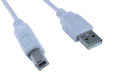 fyl 2 unidades 15 ft pies USB 2.0 a macho a B macho ...
