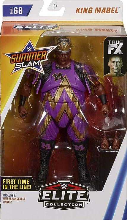 King Mabel M On Chest Wwe Elite 68 Mattel Toy Wrestling Action Figure