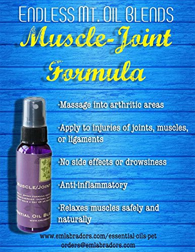 Endless Mt. Oil Blends for Pets Muscle & Joint Pain Relie...
