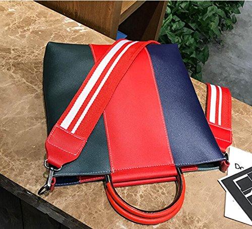Meaeo La Madre Simple Moda Nueva Bag Bolso Big Bolso De XqnvX0Wwr