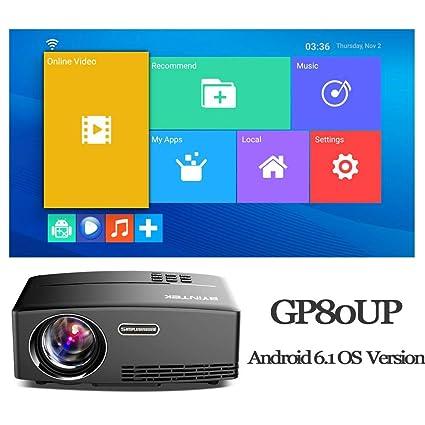 Amazon.com: LCD Projectors - Mini Projector for Full HD ...