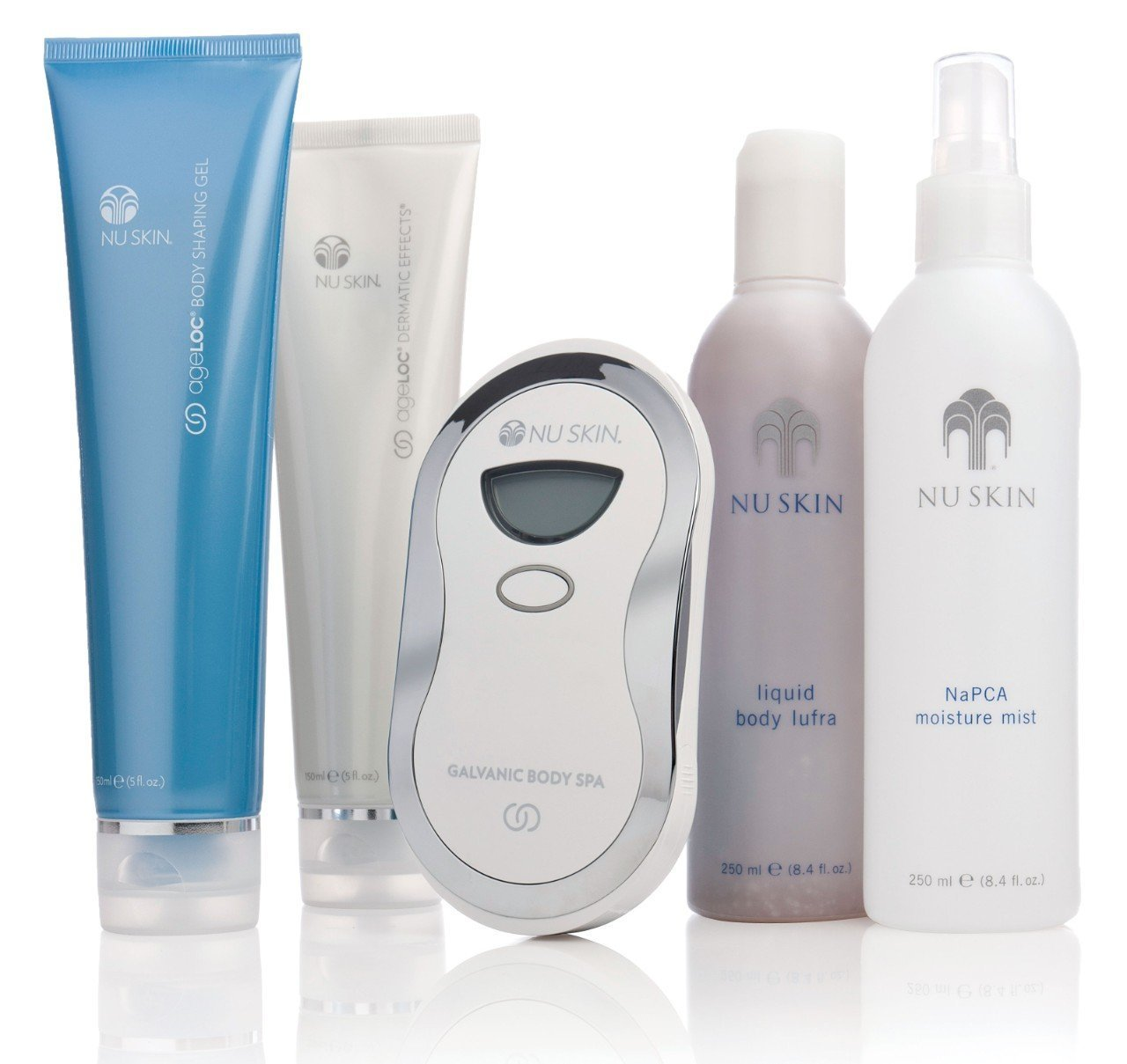 Nu Skin Nuskin Ageloc Galvanic Redesign Body Spa System Kit Brand New