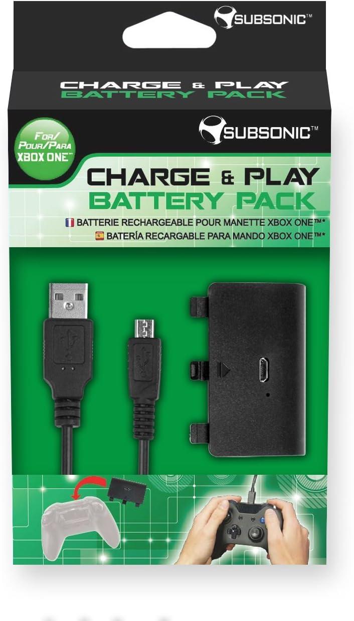 Nobilis - Charge & Play Battery Pack (Xbox One): Amazon.es: Videojuegos