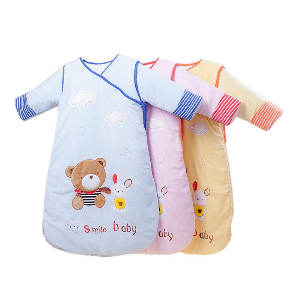 Baby Sleeping Bag Sleep SackバッグSleepingbag寝間着長袖Perfect子供に贈り物冬0 – 12ヶ月3パック B01ELDX3FK