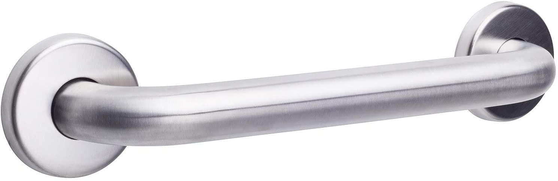 CSI Bathware BAR-SB24-TW-125-SA-P10 ADA 24-Inch Grab Bar Straight Safety Bar Concealed Flanges, Stainless Steel Satin Finish, 10-Pack 61JCvd5h6lLSL1500_