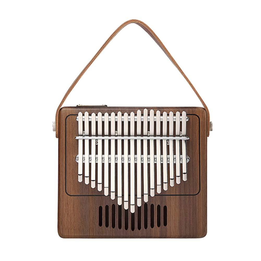 XuBa TK-R1 17-Key Thumb Piano Walnut Wood Musical Instrument