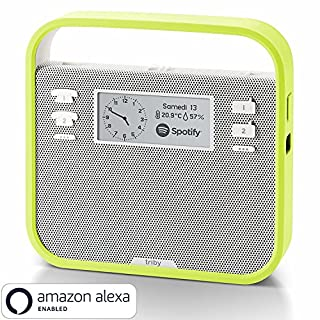 Invoxia Smart Portable Speaker with Amazon Alexa, Green (B017WL4N66) | Amazon Products