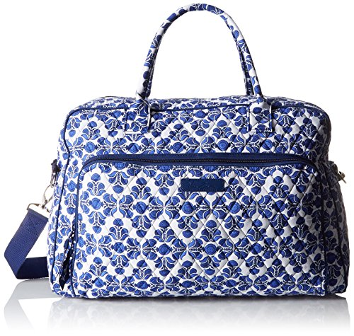 Women's Weekender, Signature Cotton, Cobalt Tile by Vera Bradley