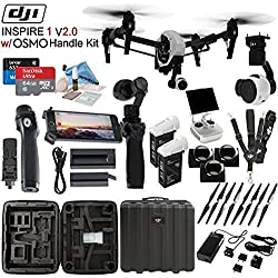 DJl lnspire 1 V2.0 with OSMO Handle Kit & eDigitalUSA Pro Kit
