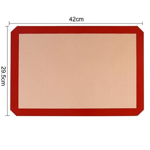 Zdmathe - Alfombrilla de silicona para horno, resistente a altas ...