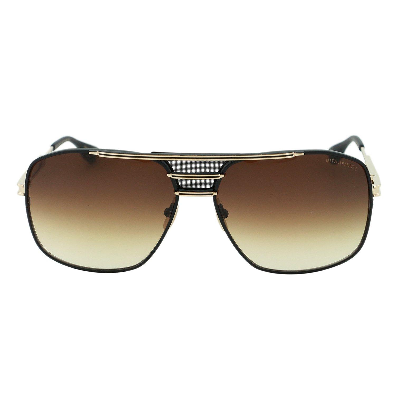 f7aaf22252 DITA Armada Men DRX-2045-B Gold   Black Titanium Japan Aviator Sunglasses  62mm  Dita  Amazon.co.uk  Clothing