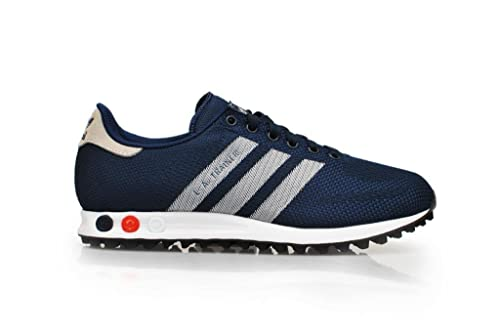 Adidas Mens - LA Trainer Weave - Dark Blue Navy White - UK 8 ...