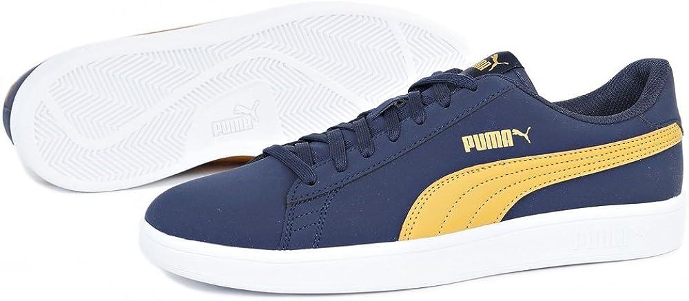 Puma Smash v2 Buck Herren Sportschuhe Blau 36516002: Amazon