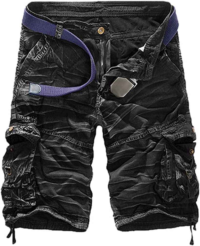 daqinghjxg Mens Military Army Combat Trousers Tactical Work Pocket Camo Cargo Shorts