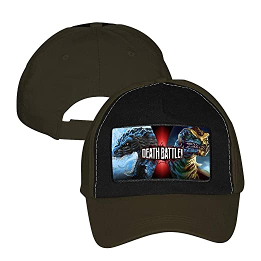 d7628b3bf XiuHongShangMAo Godzilla 3D Printing Adjustable Unisex Snapback Trucker Hat  Mesh Cap Army Green at Amazon Men's Clothing store: