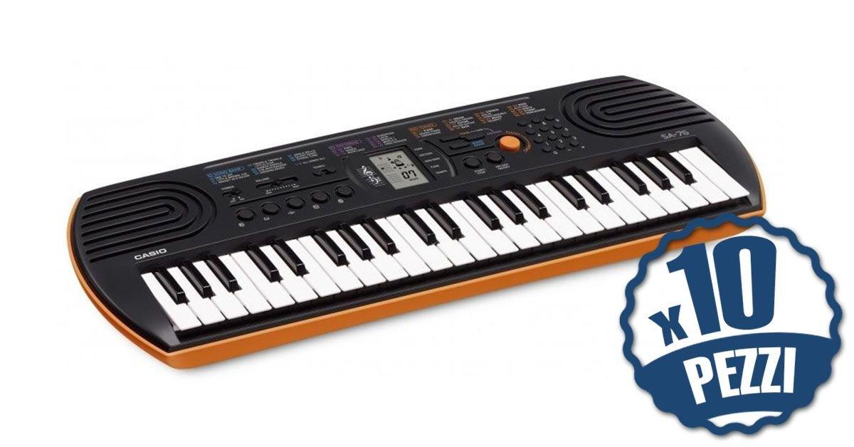 Casio SA76 - 10 Teclado 44 teclas Mini Bundle especial Escuela: Amazon.es: Instrumentos musicales