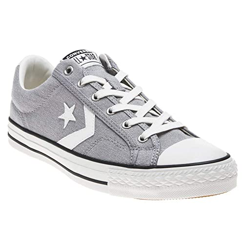 Converse Star Player Ox Mens Trainers in Dark Grey