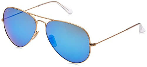 Ray-Ban RB3025 Aviator Flash Mirrored Sunglasses