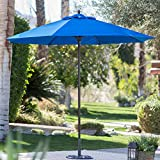 Cheap Coral Coast 9-ft. Sunbrella Commercial Grade Aluminum Wind Resistant Patio Umbrella