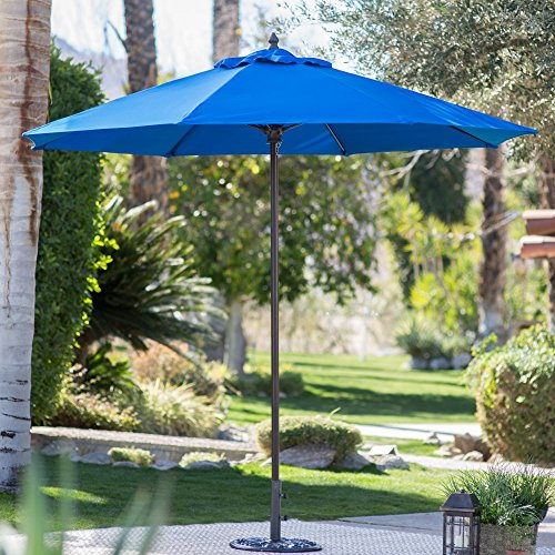Coral Coast 9-ft. Sunbrella Commercial Grade Aluminum Wind Resistant Patio Umbrella