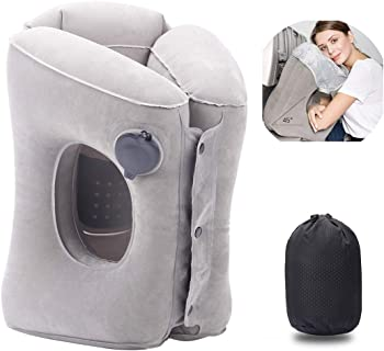 Acopsh Inflatable Travel Pillow