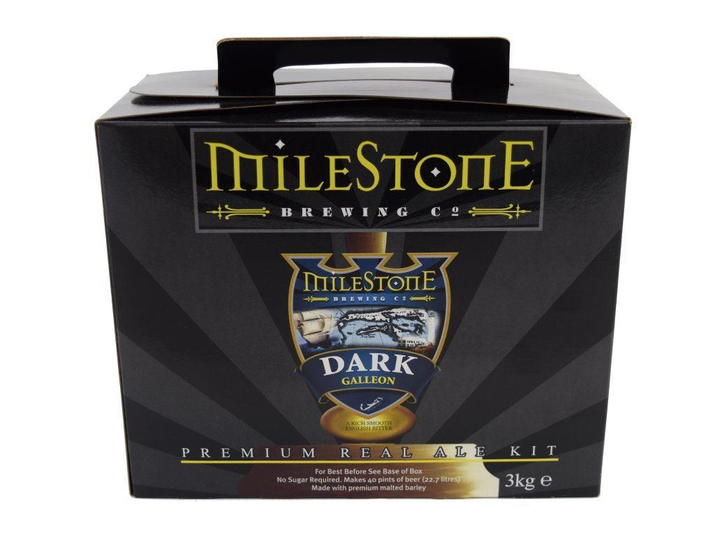 Milestone Dark Galleon Real Ale Home Brew Beer Kit - Makes 40 ...