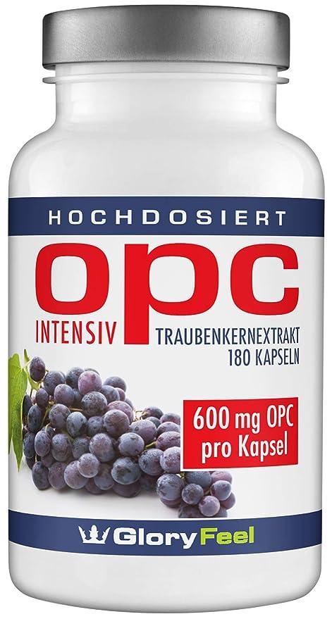 OPC extracto de semillas de uva intensivement – 180 Cápsulas a la dose máximo para 6