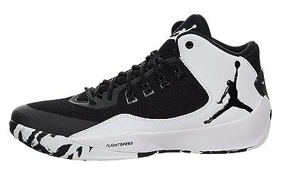 [ナイキ] NIKE Air Jordan Rising High 2 Shoes Black/White エアジョーダン スニーカー