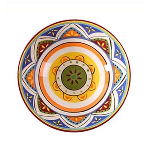 LAOZI Sopa De Cerámica Ramen Pasta Bowl Creativo Pintado A ...