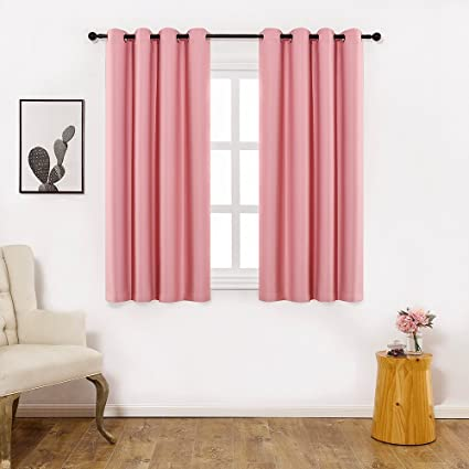 Amazon.com: Colokey Shade Insulation Curtain For Bedroom Living Room ...