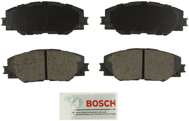 2006-15 RAV4 FRONT Bosch BE1211 Blue Disc Brake Pad Set for Pontiac: 2009-10 Vibe; Scion: 2011-16 tC; Toyota: 2009 Corolla 2009-13 Matrix