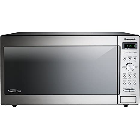 Amazon.com: Panasonic NN-SD772S Stainless 1250W 1.6 Cu. Ft ...