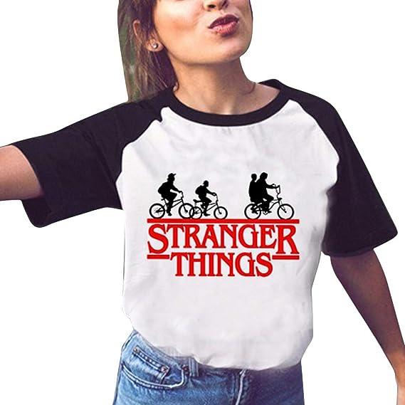 t shirt femme stranger things