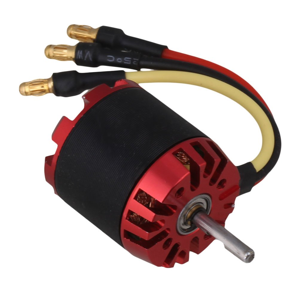 Aircraft Quadcopter Outruuner Brushless Motor N2830//08 1300KV 1A Idle Current