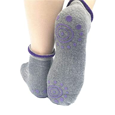 DC CLOUD Calcetines Yoga Calcetines Mujer Toeless Con Dedos ...