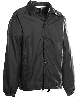 Amazon.com: Augusta Sportswear MEN'S NYLON COACH'S JACKET/LINED ...