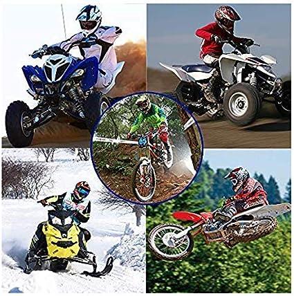 MCRUI Casco de Motocicleta Casco de Motocross para Ni/ños Casco de Motocicleta Guantes Gratis, Gafas, Gafas Casco de Motocicleta Casco Motocross ,